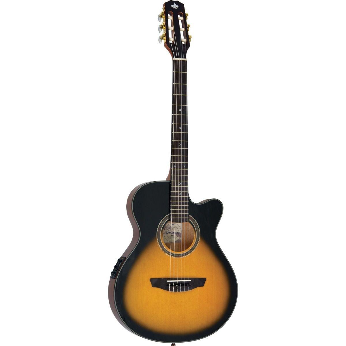 Violão Strinberg Scf25C Flat Nylon Sunburst  - Luggi Instrumentos Musicais