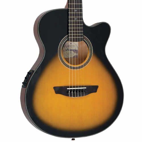 Violão Strinberg Scf25C Sunburst - Flat - Nylon  - Luggi Instrumentos Musicais