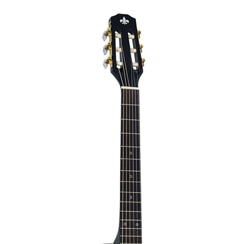 Violão Strinberg Scf25C Preto - Flat - Nylon  - Luggi Instrumentos Musicais