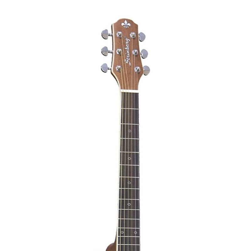 Violão Strinberg SF-20C Natural Fosco Flat Artístico  - Luggi Instrumentos Musicais