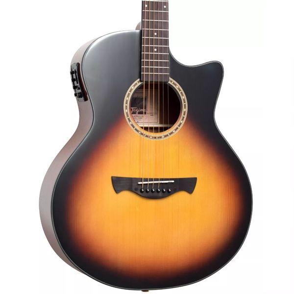 Violão Tagima Califórnia Aço Sunburst   - Luggi Instrumentos Musicais