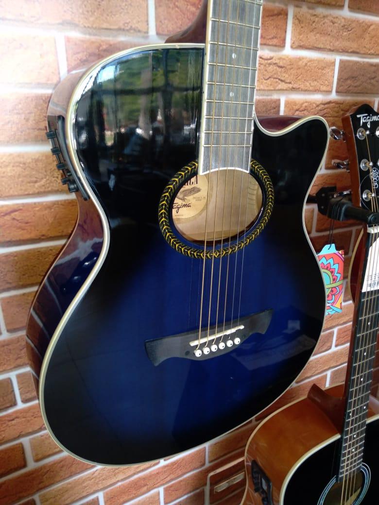 Violão Tagima Dallas Azul - Clássico - Aço  - Luggi Instrumentos Musicais
