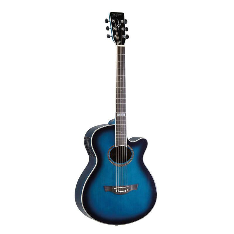 Violão Tagima Dallas Tuner Aço Azul  - Luggi Instrumentos Musicais