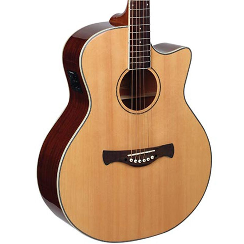 Violão Tagima Infinity 100 Natural - Jumbo - Aço  - Luggi Instrumentos Musicais