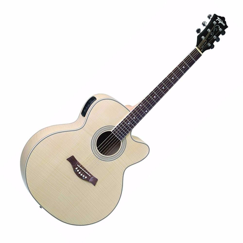 Violão Tagima Jumbo Maple Natural  - Luggi Instrumentos Musicais