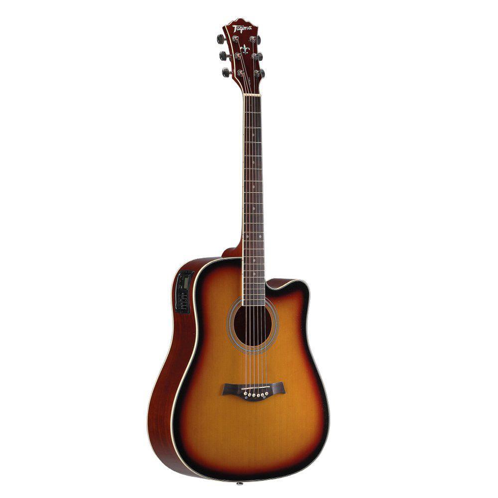 Violão Tagima Kansas Sunburst  - Luggi Instrumentos Musicais