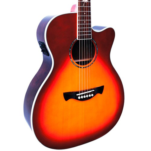 Violão Tagima Montreal Sunburst - Jumbo - Aço  - Luggi Instrumentos Musicais