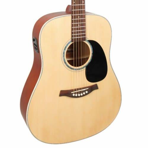 Violão Tagima Tw25 Woodstock Folk Natural Fosco  - Luggi Instrumentos Musicais