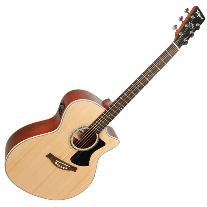Violão Tagima Tw29 Woodstock Natural Fosco  - Luggi Instrumentos Musicais