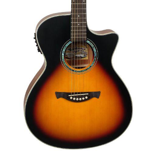 Violao Tagima Tw29 Woodstock Sunburst  - Luggi Instrumentos Musicais