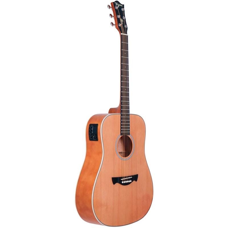 Violão Tagima TW-25 EQ Woodstock Folk Natural Fosco  - Luggi Instrumentos Musicais