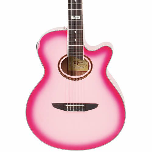 Violao Tagima Vegas Nylon Pink  - Luggi Instrumentos Musicais