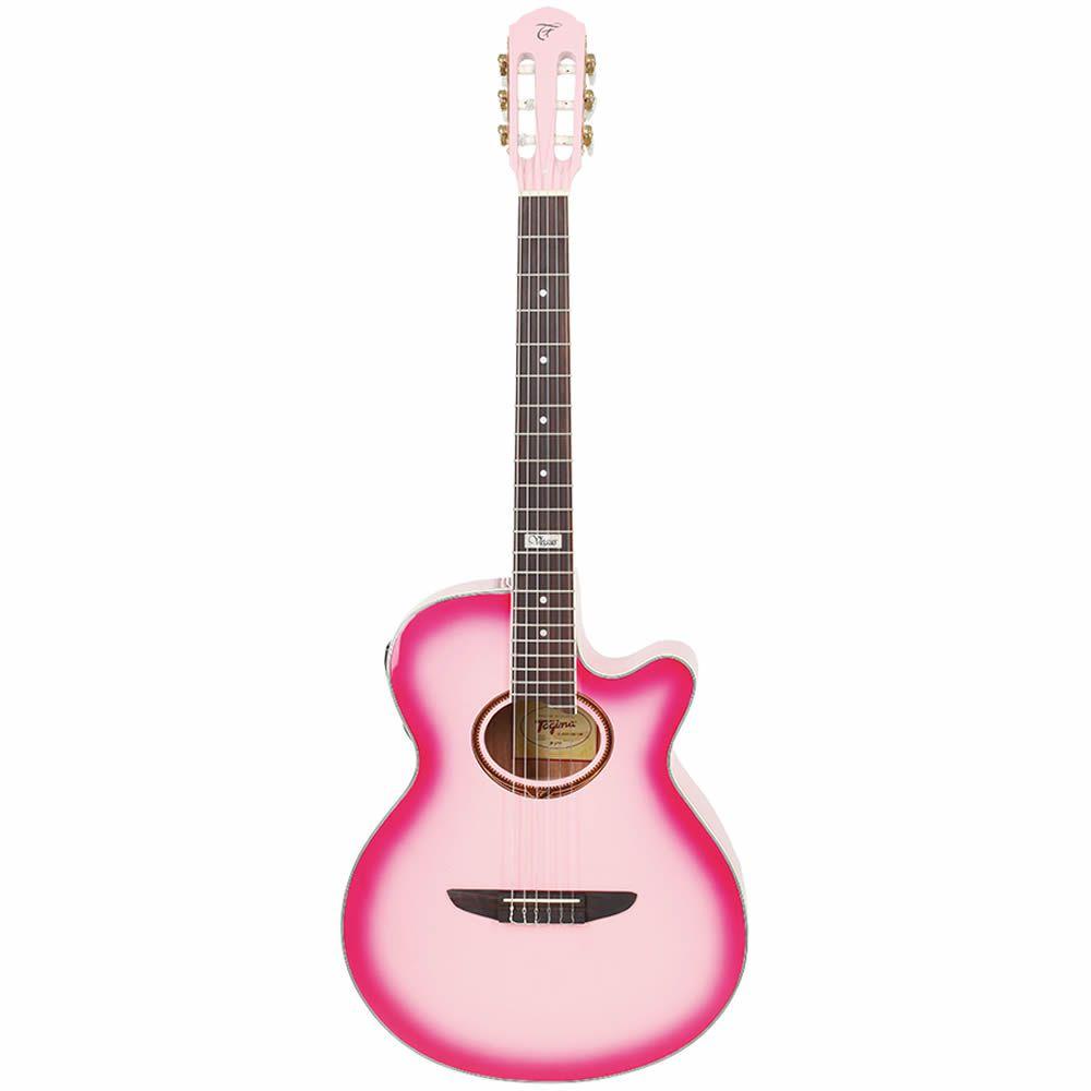 Violão Tagima Vegas Nylon Pink  - Luggi Instrumentos Musicais