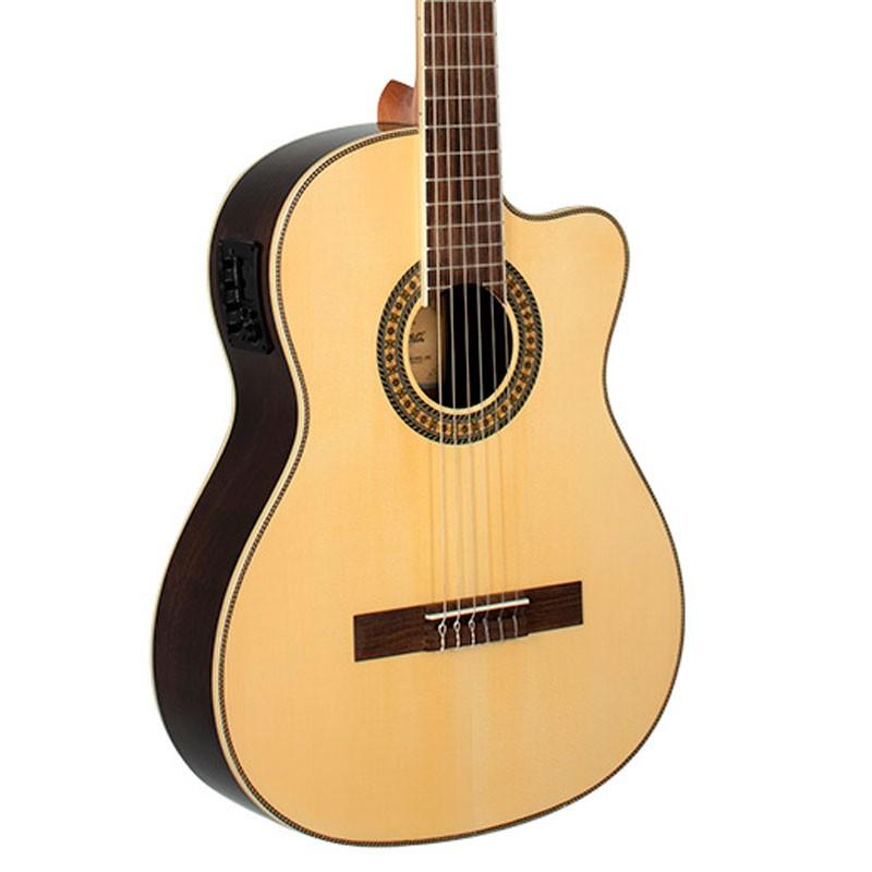 Violão Tagima WS-10 EQ Natural Clássico Nylon Elétrico  - Luggi Instrumentos Musicais