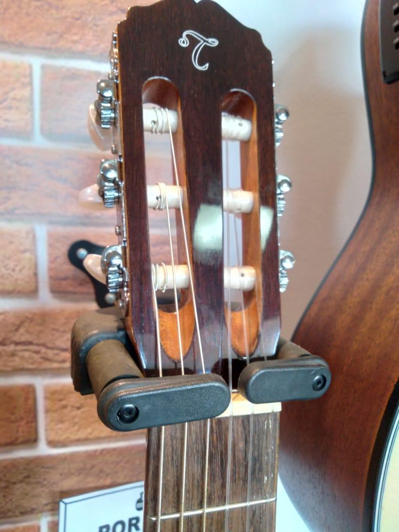 VIOLAO TAKAMINE GC1E NATURAL - NYLON  - Luggi Instrumentos Musicais
