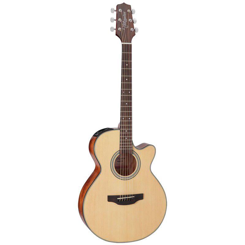 Violão Takamine Gf15Ce Natural  - Luggi Instrumentos Musicais