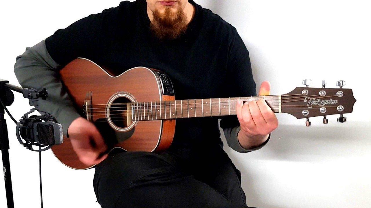 Violão Takamine Gx11Me Mahogany - Mini Jumbo - Aço  - Luggi Instrumentos Musicais