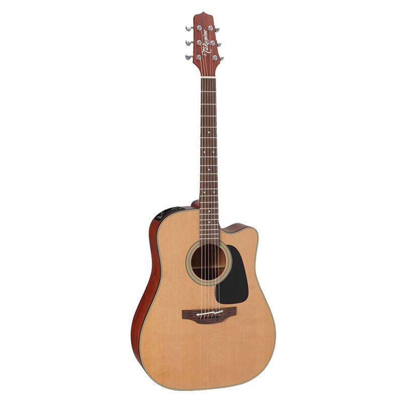 Violão Takamine P1Dc Natural C/Case  - Luggi Instrumentos Musicais