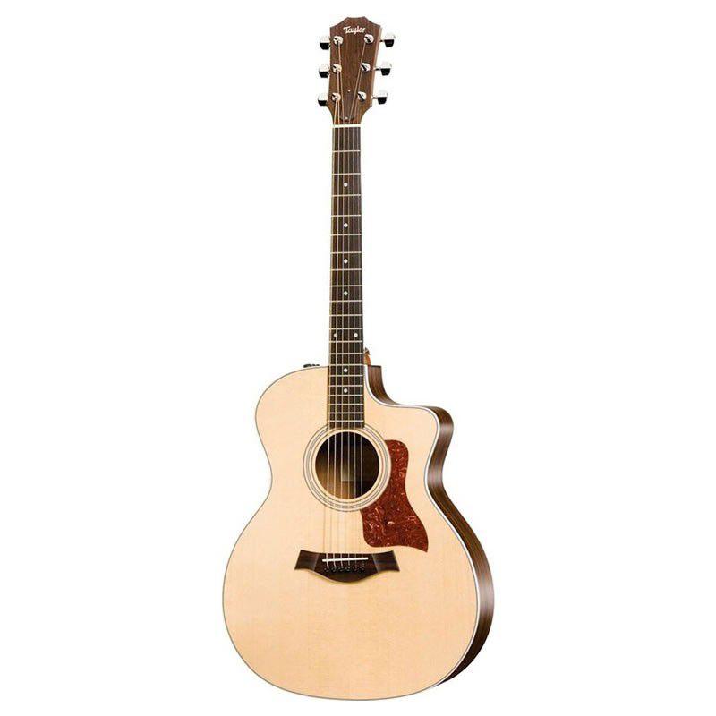 Violão Taylor 214Ce Koa/Sitka Elétrico C/Hard Bag  - Luggi Instrumentos Musicais