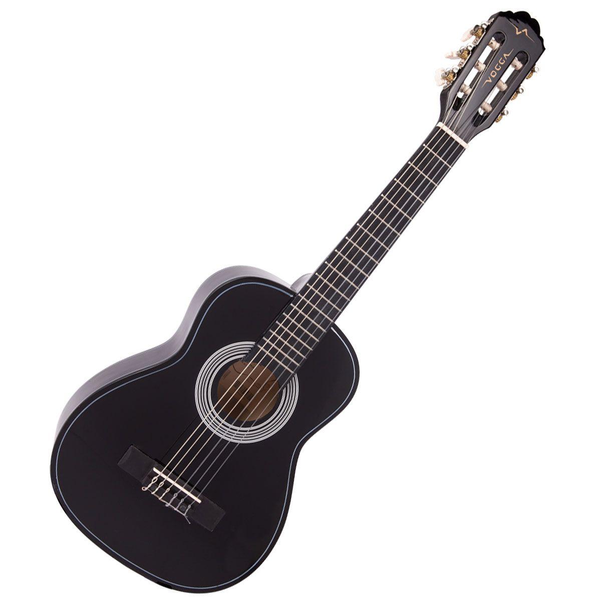 """Violão Vogga Infantil Vca84 Preto 30""""  - Luggi Instrumentos Musicais"""