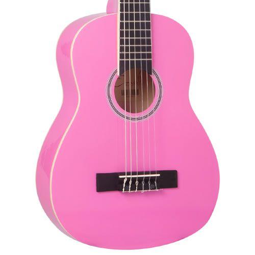 Violão Vogga Infantil Vca85 Rosa 30  - Luggi Instrumentos Musicais