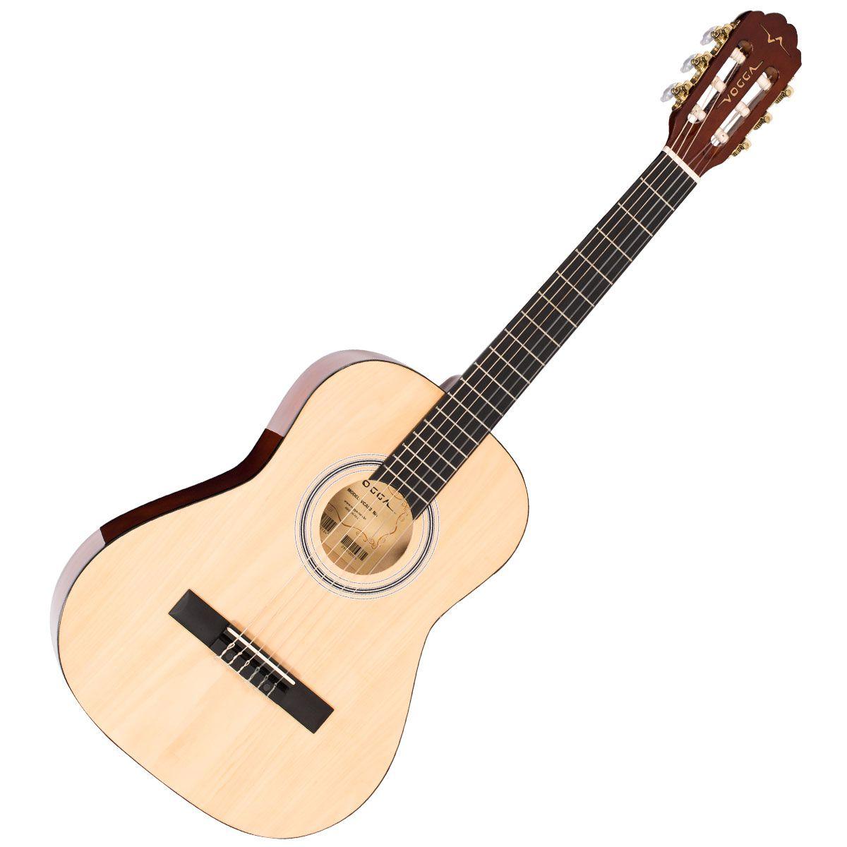 """Violão Vogga Infantil Vca93 Natural 36""""  - Luggi Instrumentos Musicais"""