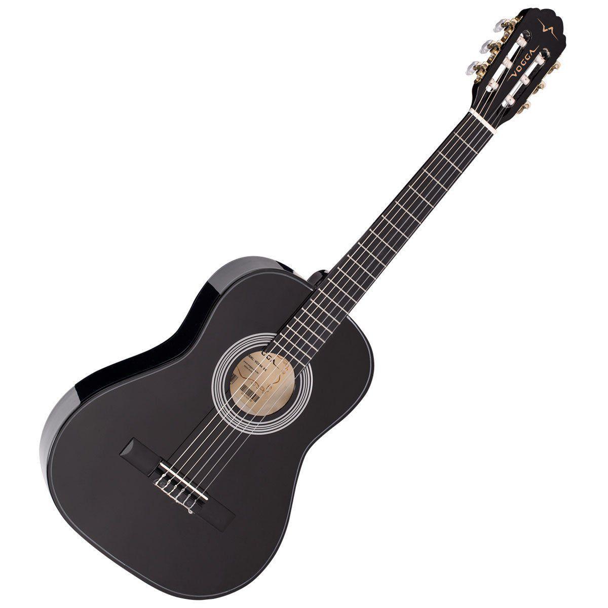 Violao Vogga Infantil Vca94 Preto  - Luggi Instrumentos Musicais