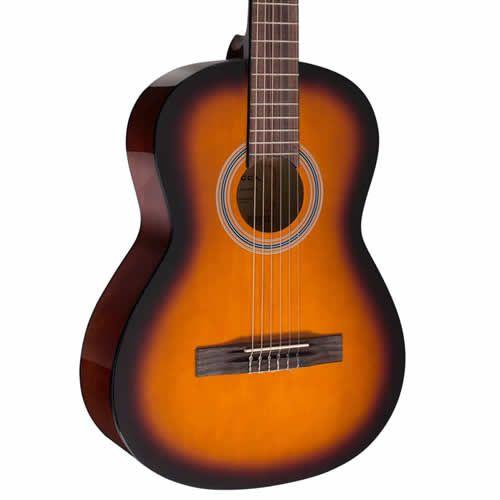 Violão Vogga Vca206N Sunburst  - Luggi Instrumentos Musicais