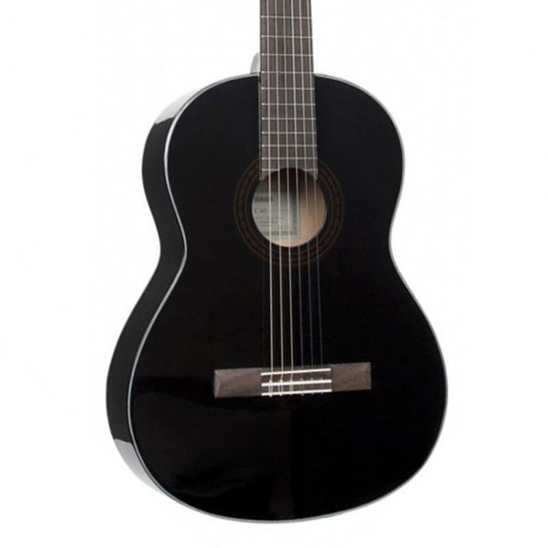Violão Yamaha C-40 Acústico Preto  - Luggi Instrumentos Musicais