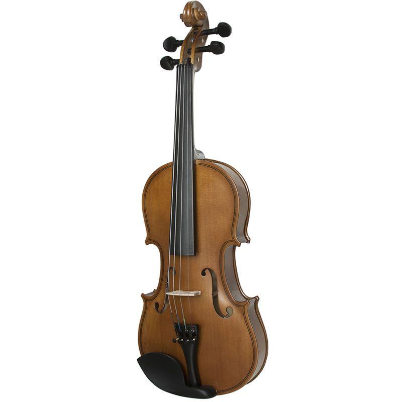 Violino 1/2 Dominante Estudante - Com Estojo, Arco e Breu   - Luggi Instrumentos Musicais