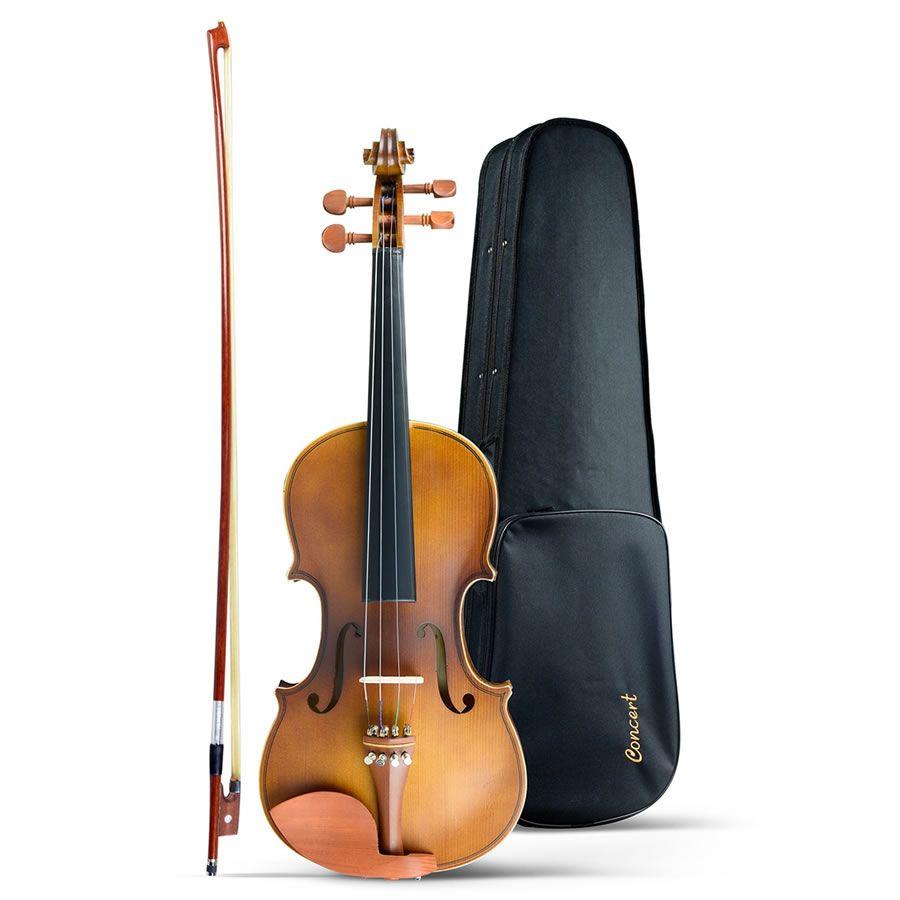 Violino 3/4 Concert Cv50  - Luggi Instrumentos Musicais
