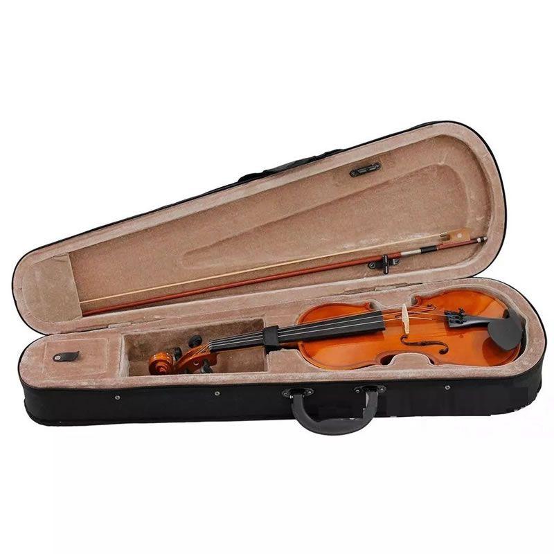 Violino 3/4 Dominante Estudante - Com Estojo, Arco e Breu   - Luggi Instrumentos Musicais