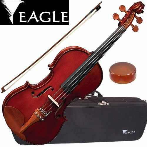 Violino 4/4 Eagle VE 244 Envelhecido - Com Estojo, Arco e Breu   - Luggi Instrumentos Musicais