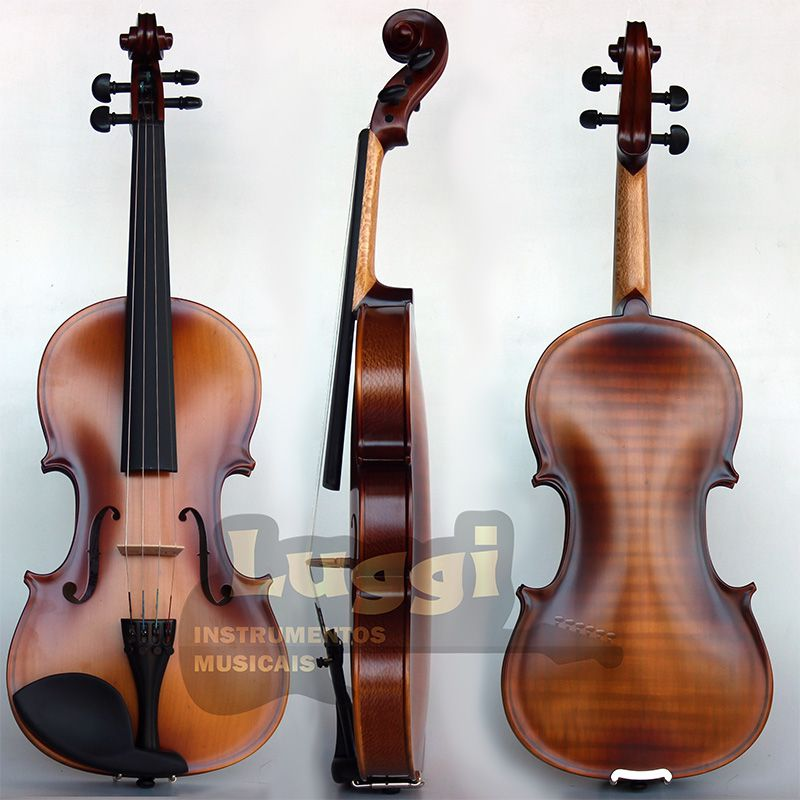 Violino 4/4 Nhureson Nhiv Estudo  - Luggi Instrumentos Musicais