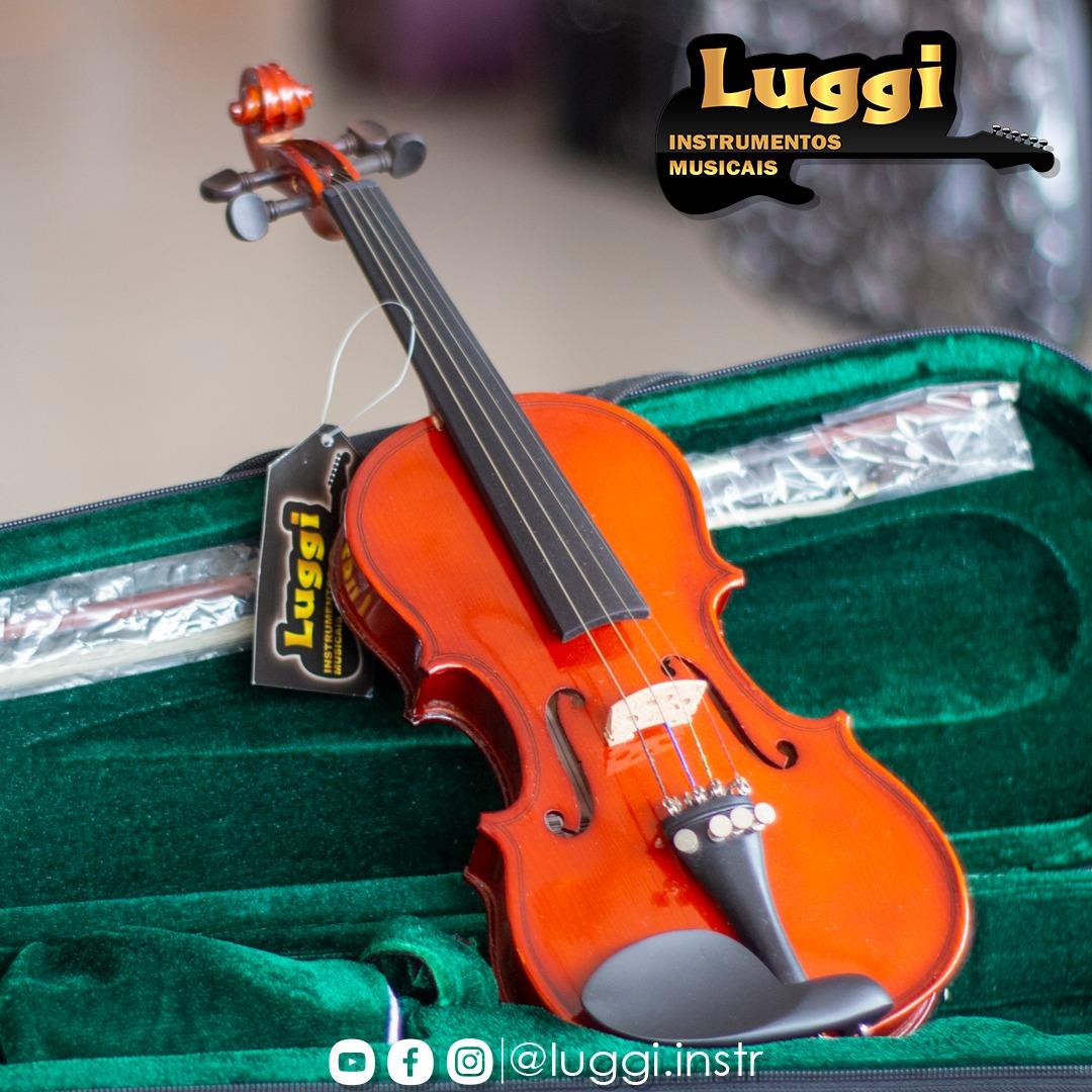 Violino  Michael Infantil 1/8 Vnm08  - Luggi Instrumentos Musicais