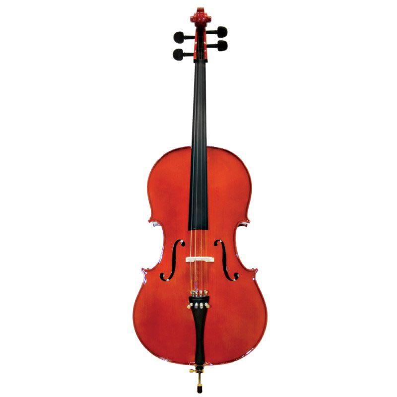 Violoncelo Michael 4/4 Vom40 - Com Capa, Arco e Breu   - Luggi Instrumentos Musicais