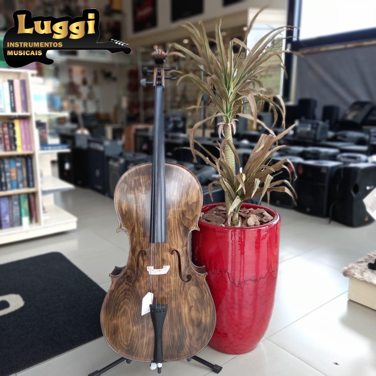 Violoncelo Nhureson 4/4 Alegro  - Luggi Instrumentos Musicais