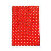 Saco De Presente Metalizado - 10x15cm, 20X30, 25x35cm ou 30x44cm - Poa Vermelho 550 - 50 Unid