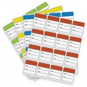 Etiqueta Tag Colorida 1000 Unidades