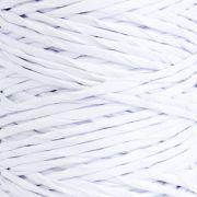 Fio Kraft Para Laço e Decoração - Grosso - Branco - Rolo 25 metros