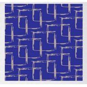 Papel de Presente - Couchê Bobina -  40cm | 60cm x 90m Blue