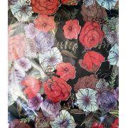 Saco de Presente Metalizado - Flora 25x37 | 30x45 (50 unidades)