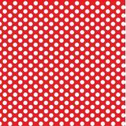 Saco de Presente Metalizado - Póa Vermelho 20x30 (50 unidades)