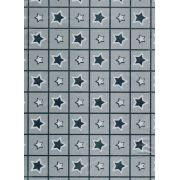 Saco de Presente Metalizado - Star 25x37 (50 unidades)