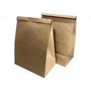 Saco Delivery Kraft Natural C/10 Unidades Pardo