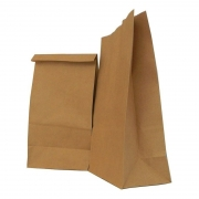 Saco Kraft para Delivery  23,5X17X34 Natural C/10 Unidades