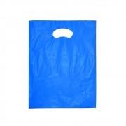Sacola Plástica Boca de Palhaço Reciclada - Várias Cores - 20x30cm - Pacote 135 unid (1 KG)