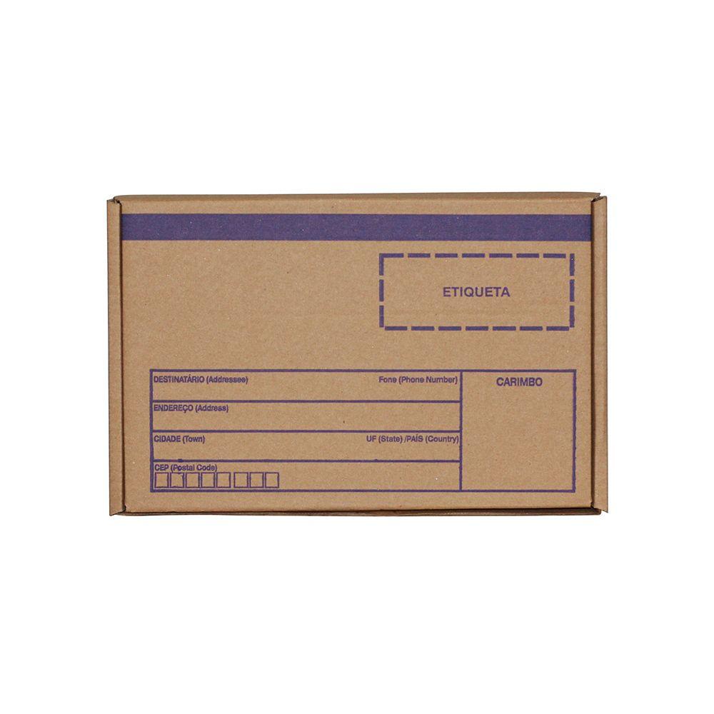 Caixa De Papelão para Correios ou E-commerce - Pardo - 35X28cm - 25 Unid.