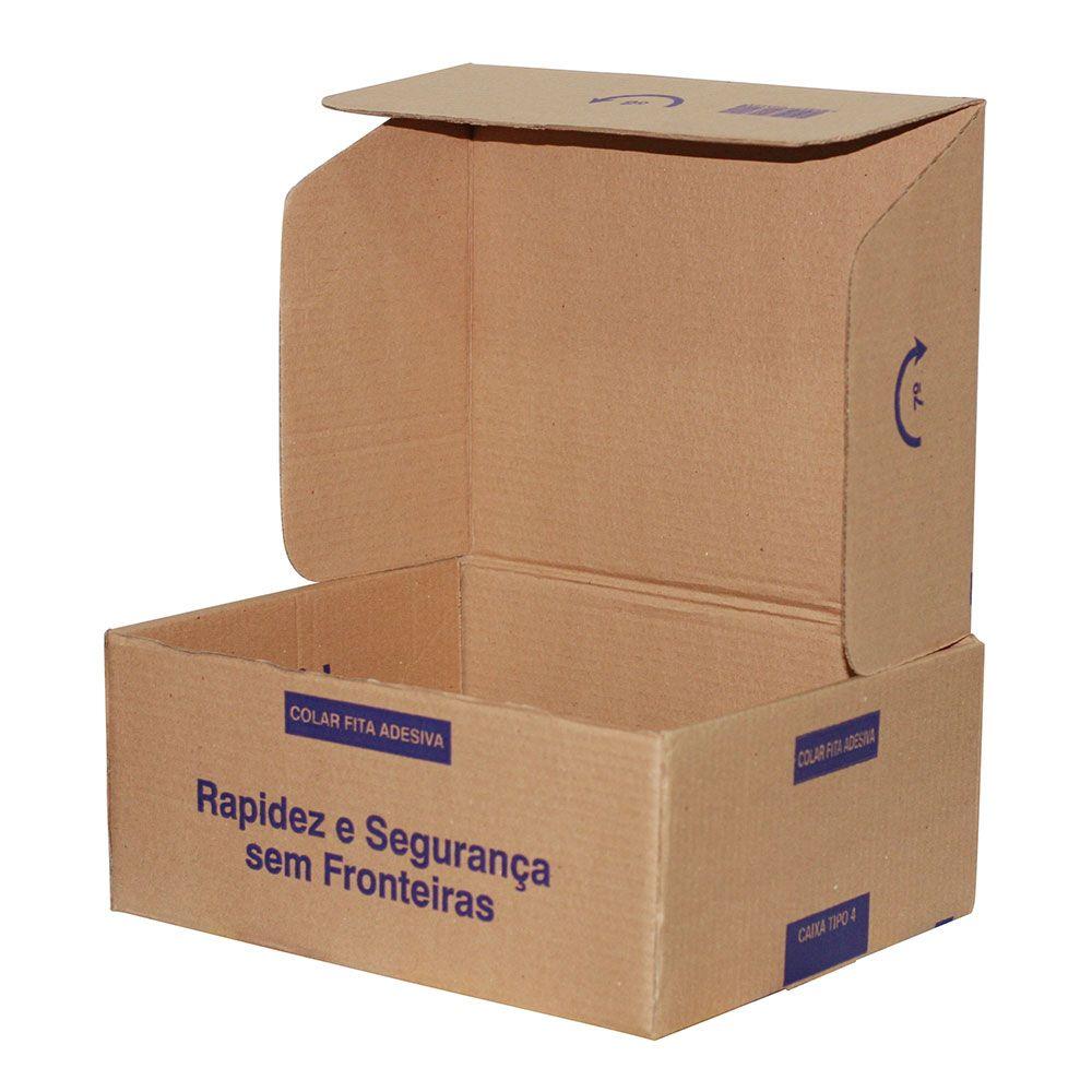 Caixa De Papelão para Correios ou E-commerce - Pardo - TIPO 04 (34X27X14) C/25 UN.