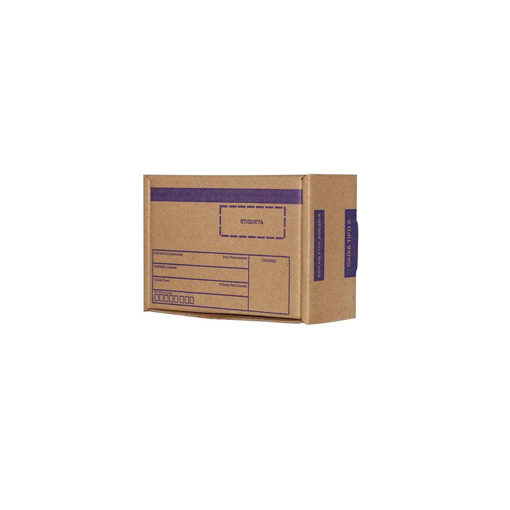 Caixa De Papelão para Correios ou E-commerce - Pardo - TIPO 00  (16X11X07) C/25 UN.